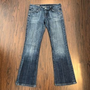 Citizens of humanity jeans low waist bootcut